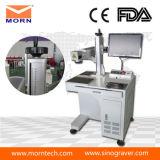 CE FDA fibra Máquina de marcado láser de grabado para Metálico