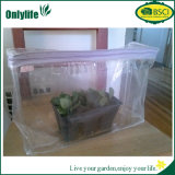 Invernadero impermeable cómodo del jardín del PVC del plástico de Onlylife 3-Tier Eco