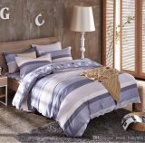Triple Textile 100% algodão High Quality Bedding Set para casa / Hotel Comforter Duvet Cover Bedding Set