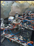 압축 공기를 넣은 움직여진 Bw/플랜지 또는 스레드 각 시트 벨브