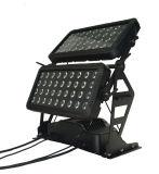 iluminación de la etapa de la luz LED del proyector de la capa doble de 72*10W 4in1 (HL-023)