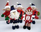 Рождество ткань ткань кукла
