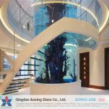 Clear / Sheet Toughened Glass for Stair Railings com Certificação