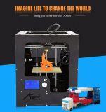 De aluminium-acryl 3D Printer van de Desktop van de Grootte van het Frame Volledige Geassembleerde Grote