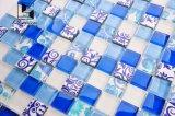 Mosaico cristalino colorido para el hotel