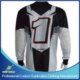 Jersey de moto motocross de motocross personalizado Sublimation com design personalizado
