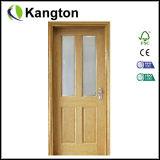 ガラス(木製のガラスドア)が付いているオフィスの木製のドア