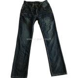 Jeans-Form-Art-Denim-Jeans des Indigo-Mannes