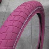 Kinder Bike Tyre Full Color mit White Color Line
