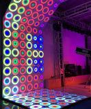 結婚披露宴ライトダイナミックなパテント61*61cm RGBの防水効果LEDのダンス・フロア