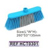 Testa di plastica della scopa della spazzola di pulizia (HCT0302)