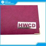 Impressão de caderno de capa dura com estampagem de folha de prata (A-V1-14)