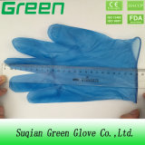 Guantes desechables de PVC azul (ISO, CE certificado)