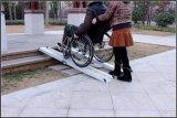 Wandelstok draagbaar aluminium rolstoel Barrier Free ramp Plate Fitness Revalidatieapparatuur