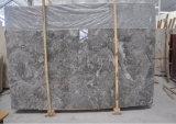 Mgm con mármol gris nuevo Xiamen Stone Fair Azulejos de losas de mármol gris