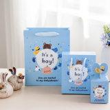 Мода Детский душ сторона бумаги подарочный пакет