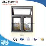 Prix vers l'intérieur de châssis de fenêtre en aluminium de guichet de tissu pour rideaux d'ouverture d'aluminium