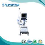 Ventilator van de Ziekenwagen van de Leverancier van China het Betrouwbare met met de Medische Apparatuur Nieuwe S1200 van 4 Wielen ICU