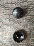 Nouveau design de zinc métal Coudre le bouton de queue de fixation pour enduire