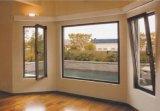 Bella inclinación y giro de la ventana de aluminio con aislamiento térmico