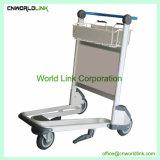 3つの車輪のツール手輸送の手荷物のアルミニウム荷物のカート