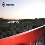 0.5mm Aluminum Thickness Broad bean Coating Cladding Wall Panel (AF-370)