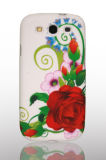 Coulorful Flower Design Handy Waterprinted TPU Fall für Samsung Galaxy S3 I9300