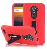 étui pour téléphone portable souple en silicone avec support pour Zte N9560