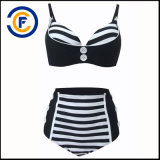Neue Art-Form-reizvolle gekopierte Bikini-Dame Swimwear