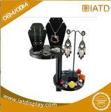 Sauter vers le haut le bijou acrylique annonçant l'étalage portatif cosmétique au détail en plastique de stand de crémaillère de tuile de lunetterie de mémoire de Pegboard de boucle d'exposition de bijou pour la promotion des ventes