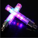 Het Licht van de Band van GLB van de kleurrijke Opvlammende LEIDENE van het Wiel van de Fiets Lichte 5 Klep van de Fiets