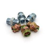 Adattatore idraulico inossidabile del tubo flessibile di Bsp del acciaio al carbonio (1T9-SP)