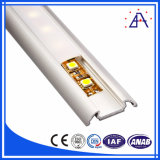 Moldura LED de alumínio com diferentes tipos