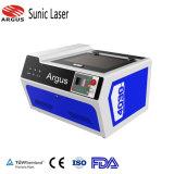 소형 이산화탄소 Laser 고무 자동 날인기 Laser 조각 기계 Laser 조판공 25W 30W