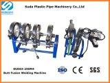 Manuelle Schmelzschweißen-Maschine des Kolben-Sud250m-4 für HDPE Rohr