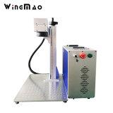 Precio de la fabricación de fibra láser grabador portátil de la máquina de marcado de metal 20W 30W marcadora láser de fibra