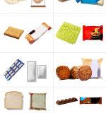 Macchina per l'imballaggio delle merci del Rolls del pane di aglio