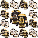 2018 Nova Marca homens Sade Kids Boston Bruins 21 Szwarz 47 Torey Krug 46 David Krejci Riley Nash Sean Kuraly 23 Karlsson Hockey camisolas