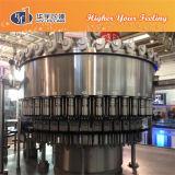 Agua purificada que enjuaga que rellena la máquina que capsula