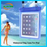 iPad를 위한 결박을%s 가진 방수 수영 여행 정제 부대 상자