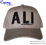 6つのパネル様式の野球帽が付いている100%年の綿の物質的な帽子