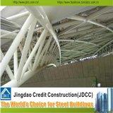 Fabrication et construction pour la structure métallique de gare