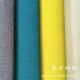 Polyester ultra mou 100% de tissu de suède pour la décoration à la maison