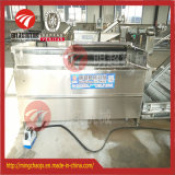 Machine de nettoyage de pomme de terre de machine à laver de raccord en caoutchouc de patate douce d'acier inoxydable