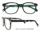 La lunetterie italienne stigmatise l'oeil le bâti optique en verre pour la lunetterie de femmes