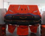 Solas aprobó la fábrica inflable de la balsa de la vida de 6 hombres
