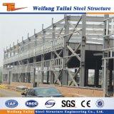 Construction préfabriquée d'immeuble de bureau de structure de bâti en acier pour l'usine d'industrie multicouche