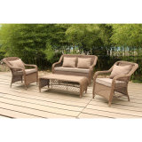 Modern Luxe Outdoor Furniture Tuin Patio Wicker / Rotan Set