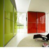 Farbiges angestrichenes ausgeglichenes Glas-Panel