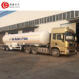 56cbm LPG/LNG/Butane/Propane/Cookingのガス天燃タンカーのトレーラー